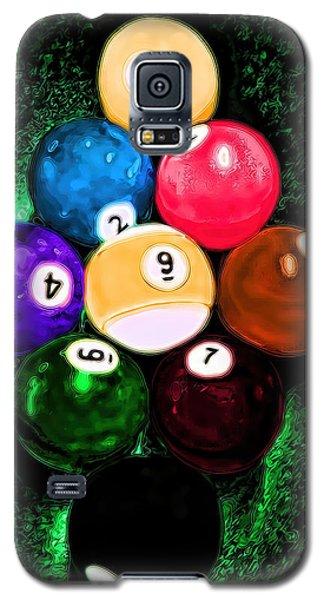 Billiards Art - Your Break Galaxy S5 Case by Lesa Fine