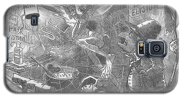 Billings Elysium Editorial Art Galaxy S5 Case
