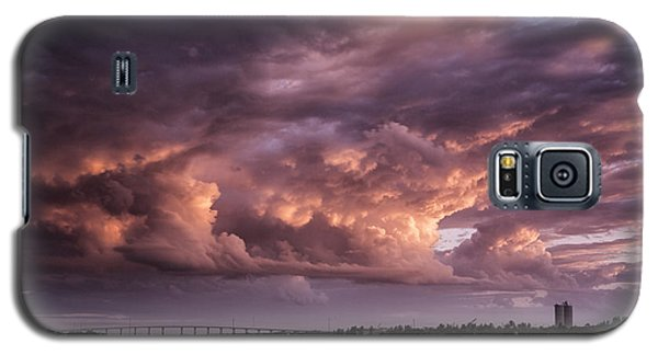 Billowing Clouds Galaxy S5 Case