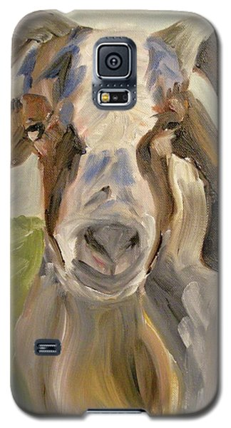 Galaxy S5 Case featuring the painting Billy by Donna Tuten