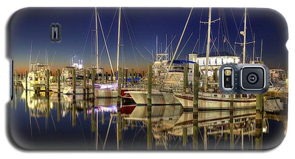 Biloxi Harbor Galaxy S5 Case by Maddalena McDonald