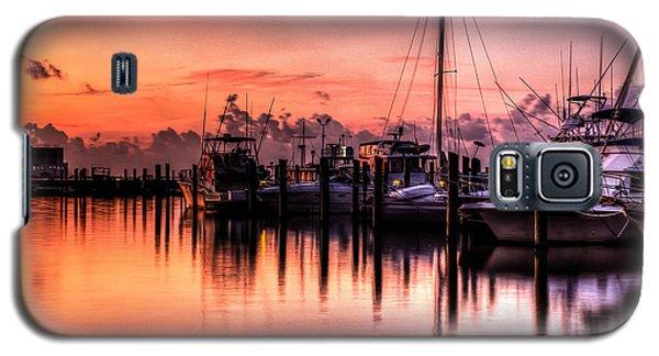 Biloxi Mississippi Harbor Galaxy S5 Case by Maddalena McDonald
