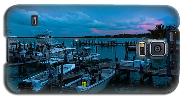 Bimini Big Game Club Docks After Sundown Galaxy S5 Case by Ed Gleichman