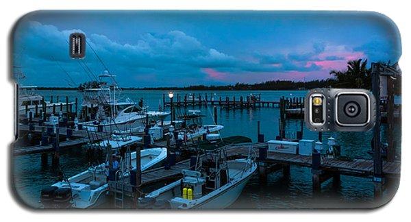 Bimini Big Game Club Docks After Sundown Galaxy S5 Case