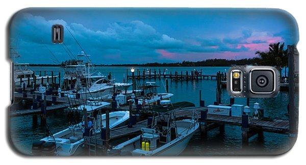 Bimini Big Game Club Docks After Sundown Galaxy S5 Case