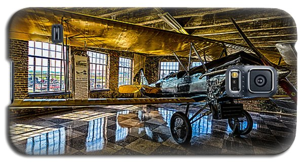 Galaxy S5 Case featuring the photograph Biplane by Jay Stockhaus