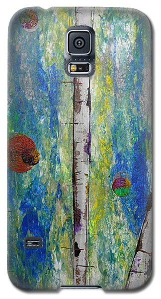 Birch - Lt. Green 4 Galaxy S5 Case