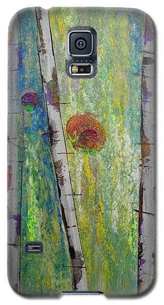 Birch - Lt. Green 5 Galaxy S5 Case