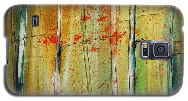 Birch Tree Forest I Galaxy S5 Case