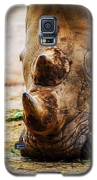 Bird And Rhino Galaxy S5 Case