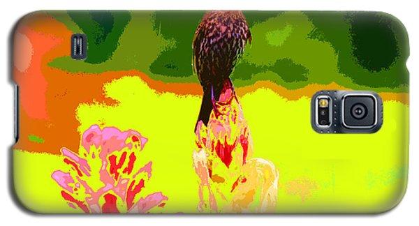 Bird And Rhodie Galaxy S5 Case