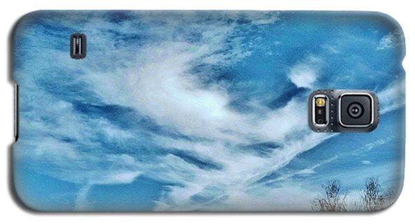 Bird Cloud Soaring By Galaxy S5 Case by Angela J Wright