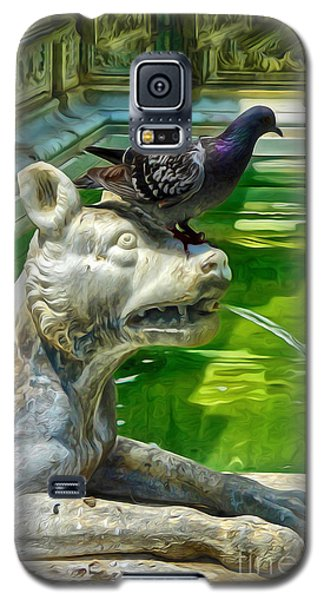 Galaxy S5 Case featuring the digital art Bird Dog by Gregory Dyer