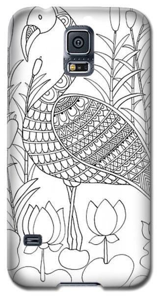 Flamingo Galaxy S5 Case - Bird Flamingo by Neeti Goswami