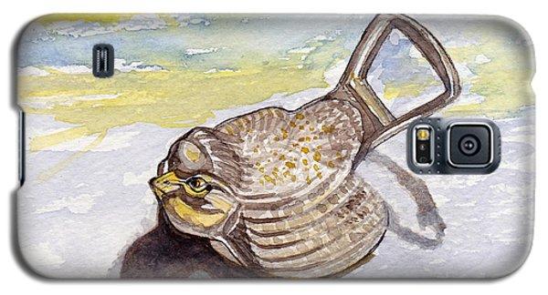 Bird Flies On Fridays Galaxy S5 Case by Julie Maas