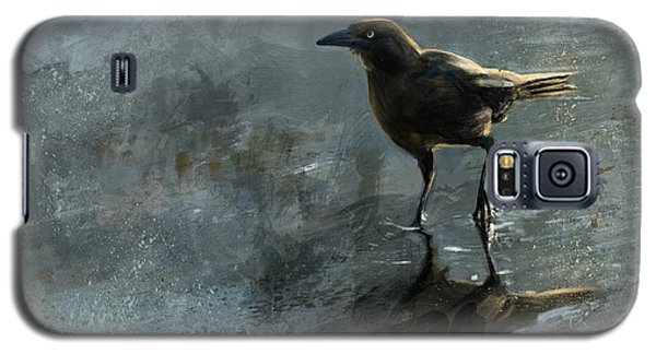 Bird In A Puddle Galaxy S5 Case