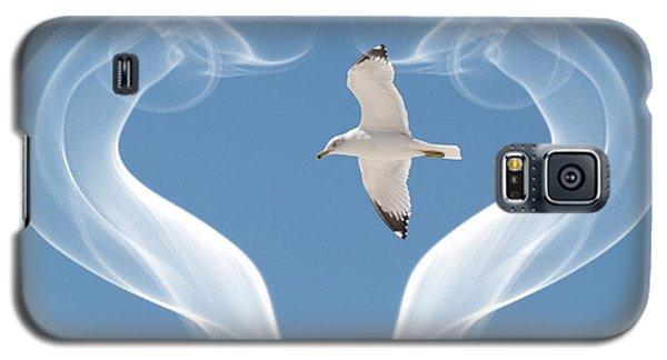 Bird In Flight Galaxy S5 Case by Athala Carole Bruckner