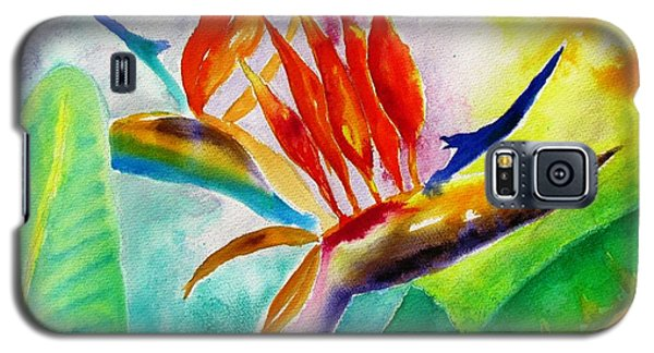 Bird Of Paradise Galaxy S5 Case by Carlin Blahnik