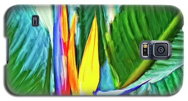Bird Of Paradise Galaxy S5 Case by Dominic Piperata