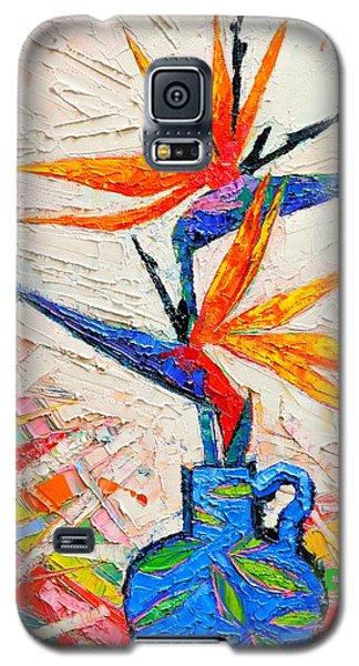 Bird Of Paradise Flowers Galaxy S5 Case