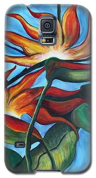 Bird Of Paradise Galaxy S5 Case by Jolanta Anna Karolska