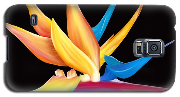 Galaxy S5 Case featuring the painting Bird Of Paradise by Laura Bell