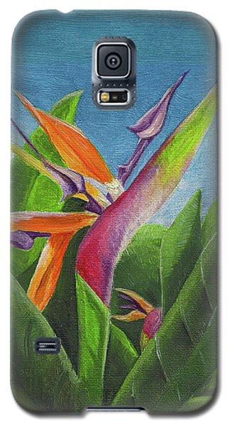 Hawaiian Bird Of Paradise Galaxy S5 Case