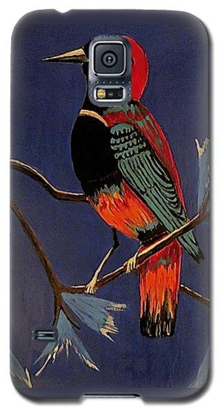Bird On A Branch Galaxy S5 Case by Kathleen Sartoris