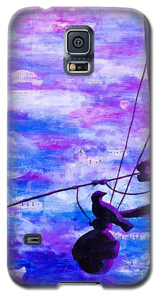 Bird On A Wire Galaxy S5 Case