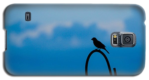 Galaxy S5 Case featuring the photograph Bird Silhouette  by Dee Dee  Whittle