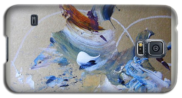 Galaxy S5 Case featuring the painting Bird Song by Nancy Kane Chapman