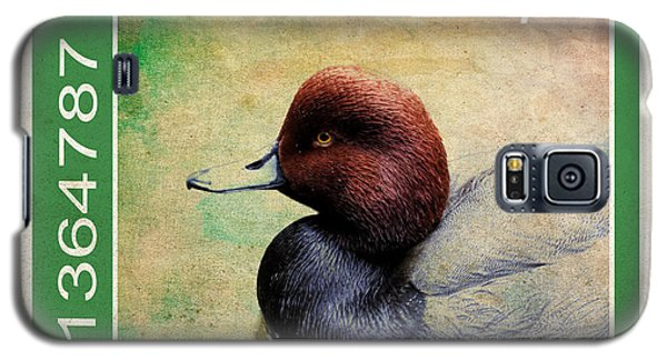 Bird Stamp Galaxy S5 Case