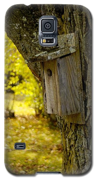 Galaxy S5 Case featuring the photograph Birdhouse by Alex King