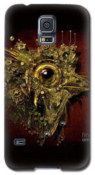 Galaxy S5 Case featuring the digital art Birdmachine by Alexa Szlavics