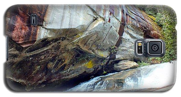 Birdrock Waterfall In Spring Galaxy S5 Case