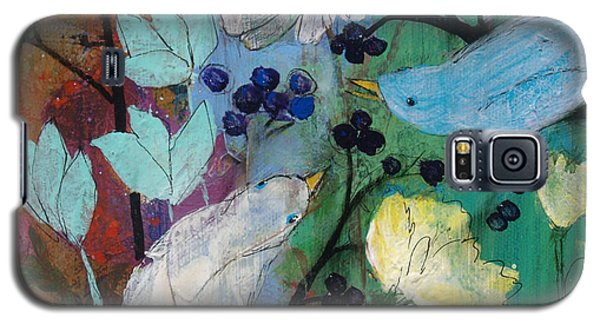 Birds And Berries Galaxy S5 Case