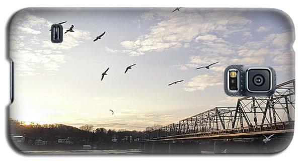 Birds And Bridges Galaxy S5 Case
