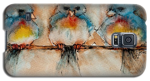 Birds Of A Feather Galaxy S5 Case by Jani Freimann