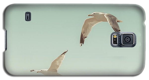 Seagull Galaxy S5 Case - Birds Of A Feather by Lucid Mood