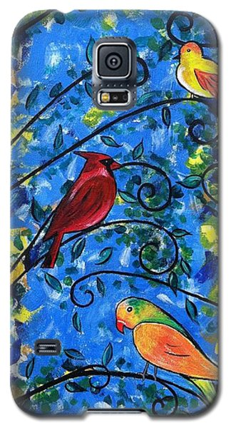 Birds Of Color Galaxy S5 Case