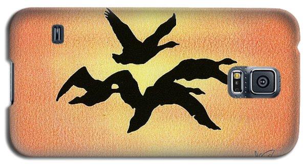 Birds Of Flight Galaxy S5 Case by Troy Levesque