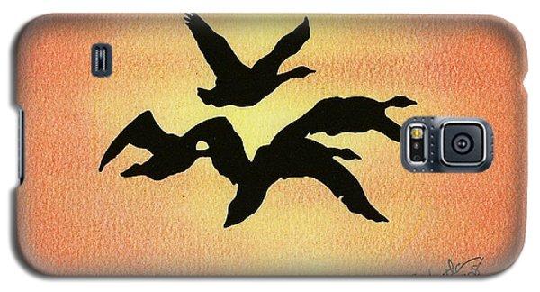 Birds Of Flight Galaxy S5 Case