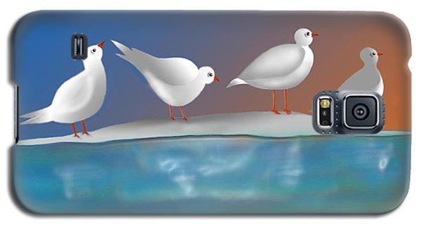 Birds Of Summer Breeze Galaxy S5 Case