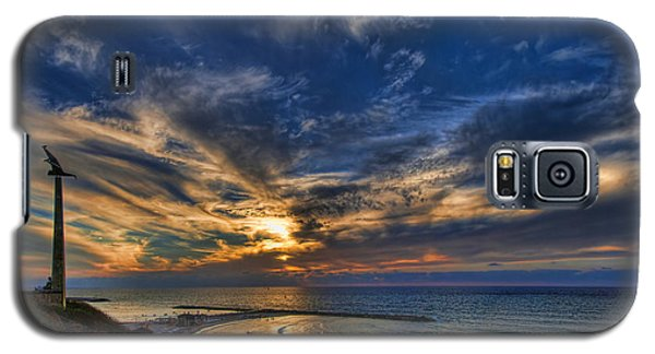 Birdy Bird At Hilton Beach Galaxy S5 Case
