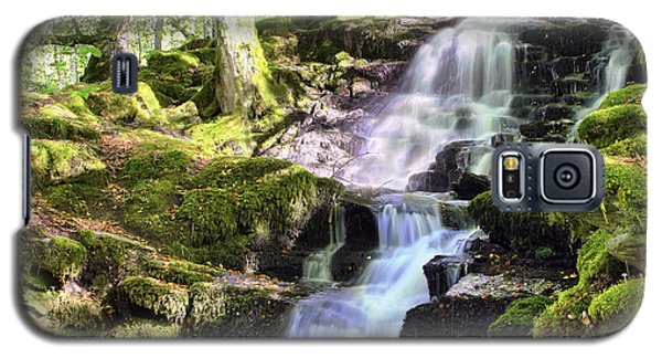 Birks Of Aberfeldy Cascading Waterfall - Scotland Galaxy S5 Case