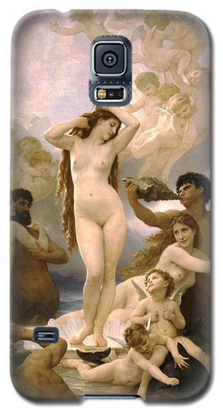 Birth Of Venus Galaxy S5 Case by William Bouguereau