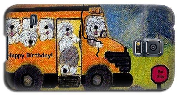 Birthday Bus Galaxy S5 Case