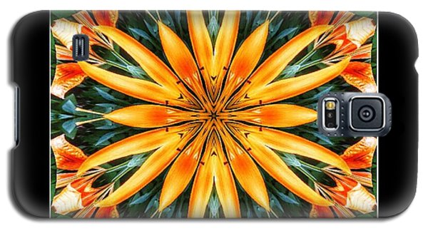 Birthday Lily For Erin Galaxy S5 Case by Nick Heap