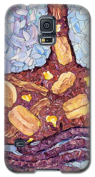 Galaxy S5 Case featuring the painting Biscuit Basket by James W Johnson