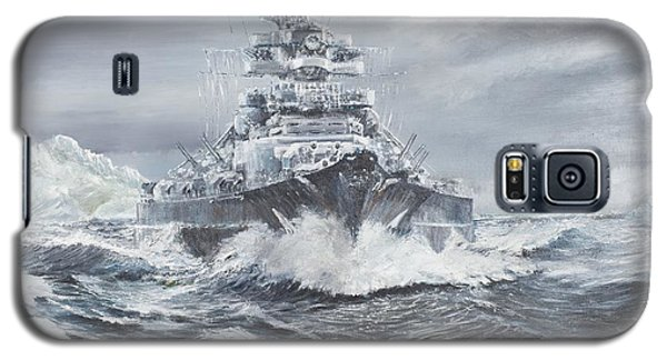 Bismarck Off Greenland Coast  Galaxy S5 Case by Vincent Alexander Booth